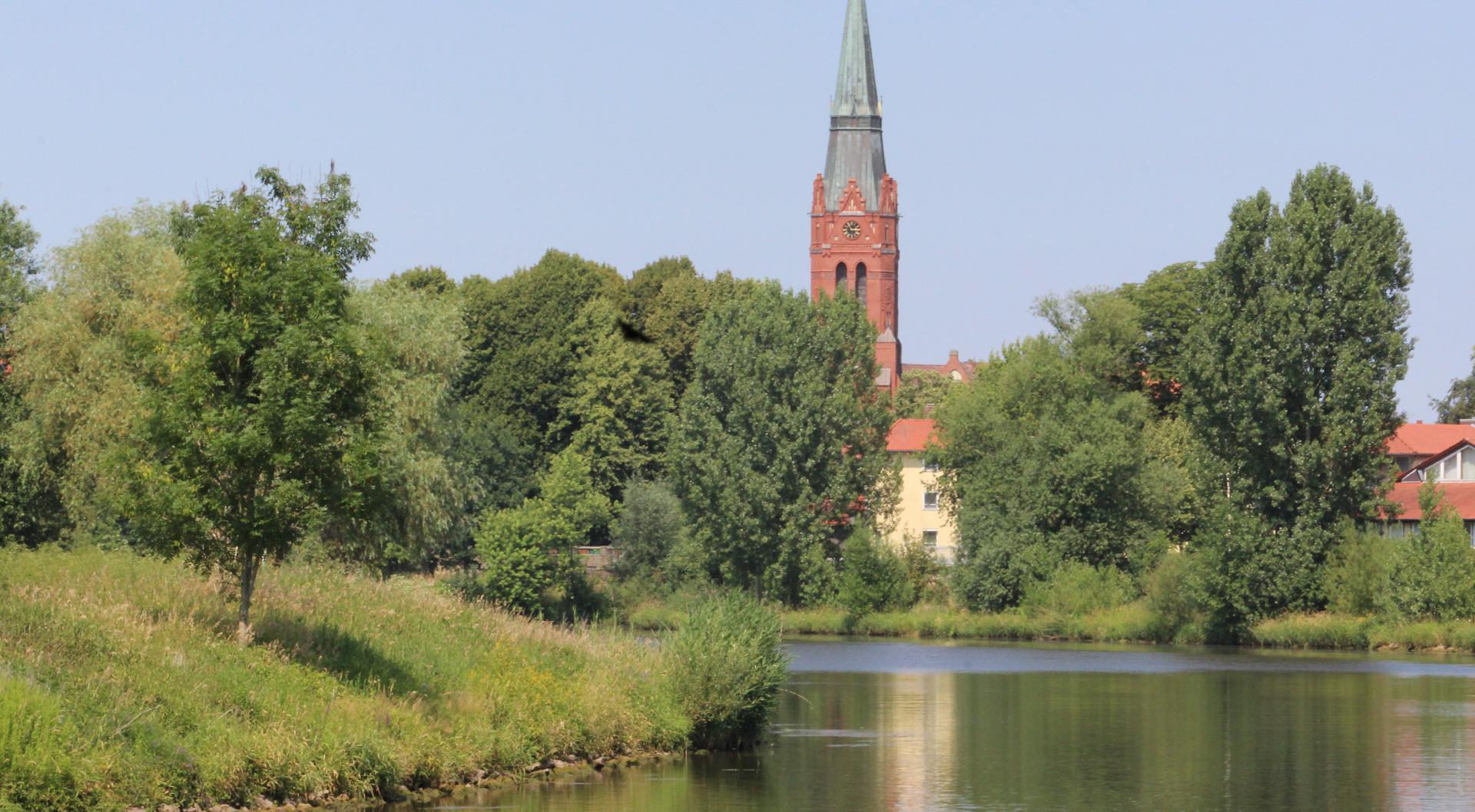 Nienburg Weserbild