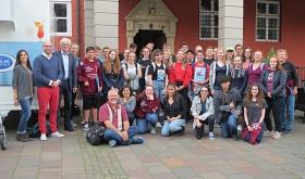 Schüler*innen aus Las Cruces in Nienburg/Weser