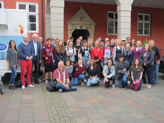 Schüler*innen aus Las Cruces in Nienburg/Weser©Nienburg - Freundschaften weltweit e.V.
