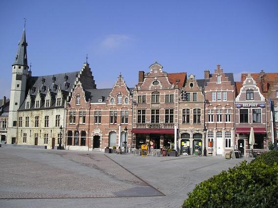 Grote Markt in Dendermonde©Nienburg - Freundschaften weltweit e.V.