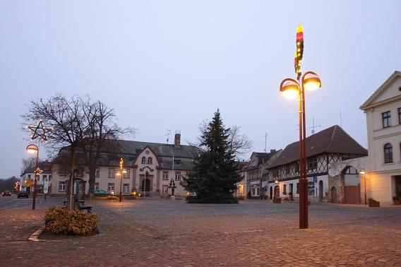 Marktplatz Nienburg an der Saale©Nienburg - Freundschaften weltweit e.V.