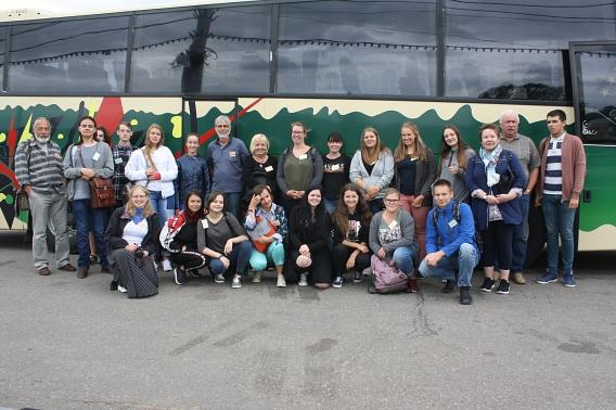 Reisegruppe Jugendlager in Witebsk©Nienburg - Freundschaften weltweit e.V.