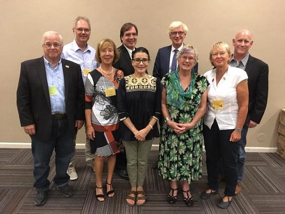 Teilnehmer der Reisgruppe nach Las Cruces©Nienburg - Freundschaften weltweit e.V.